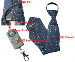 Spy Neck Tie Camera In Karnal